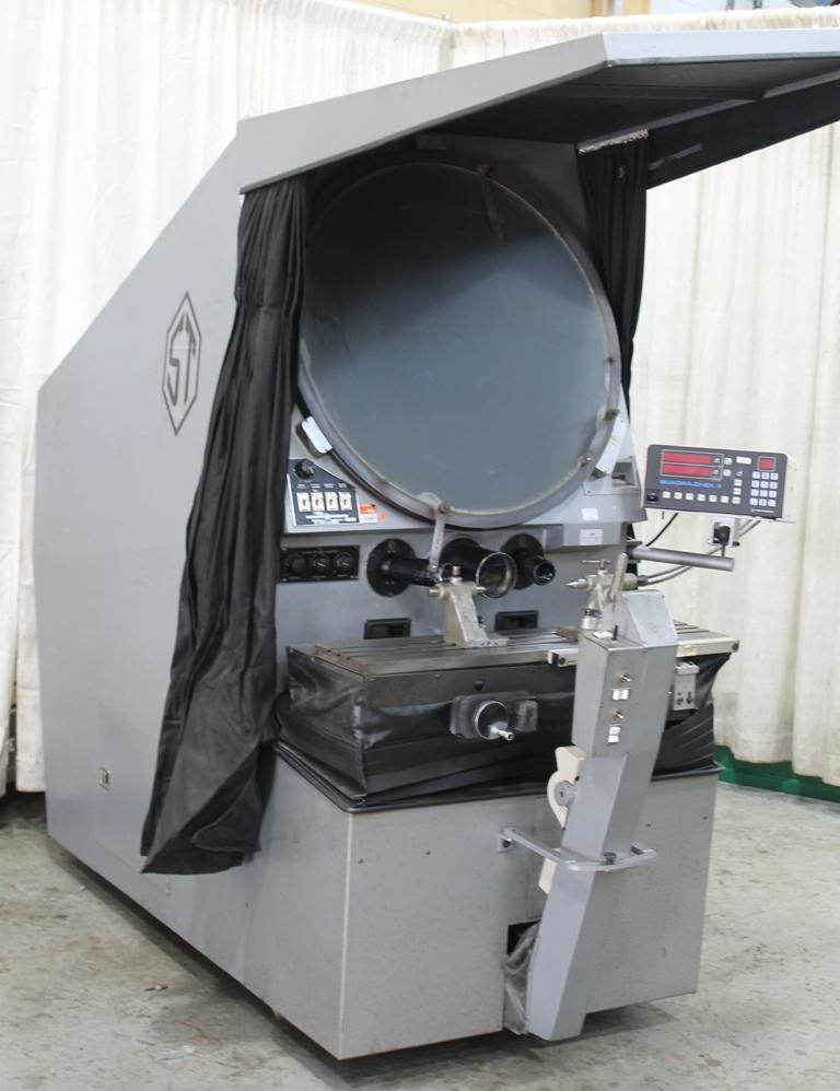 30' SCHERR TUMICO OPTICAL COMPARATOR: STOCK # 63012