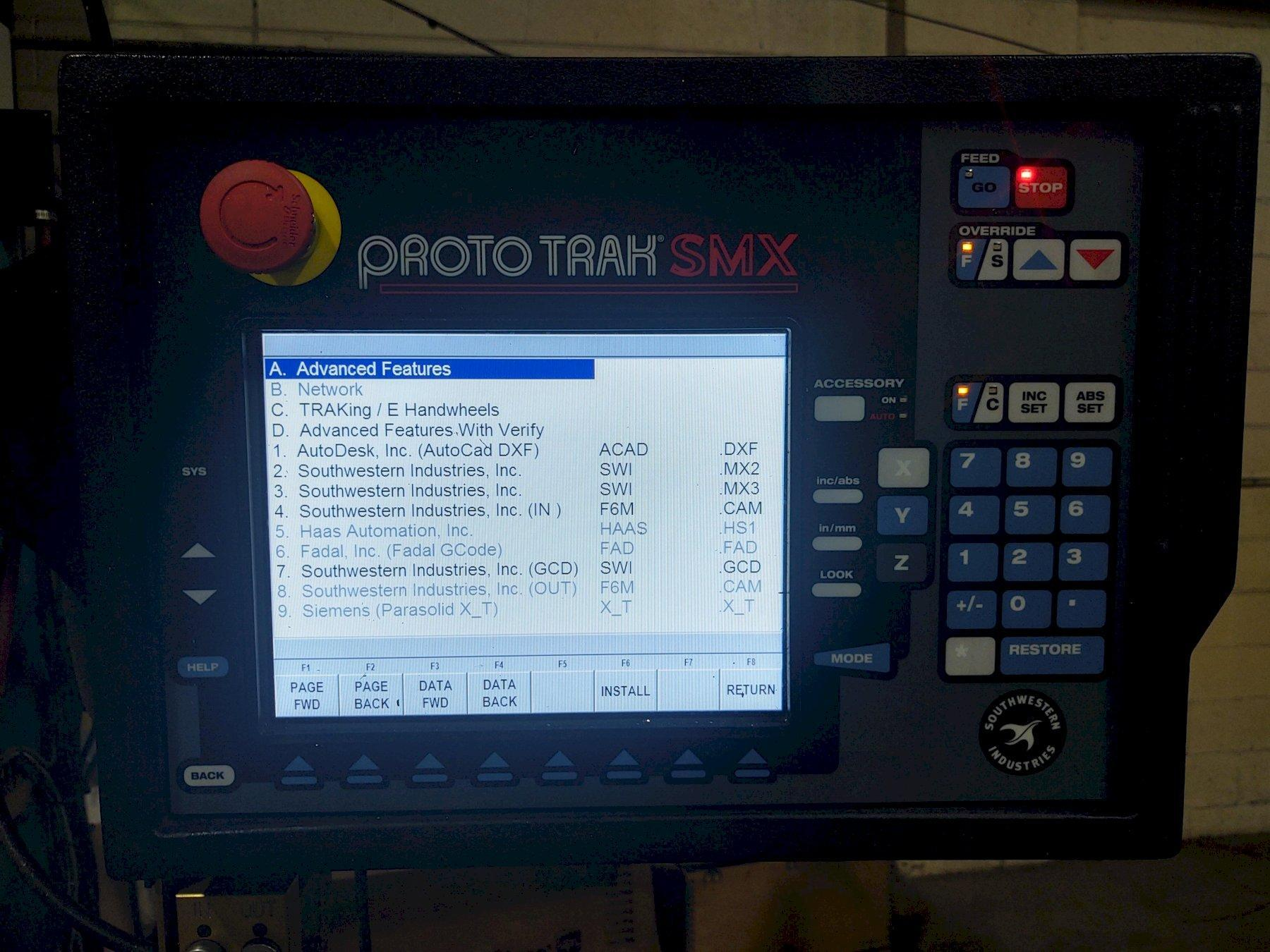 Southwestern Industries DPM SX5P CNC Bed Mill (2016)             Programmable Spindle