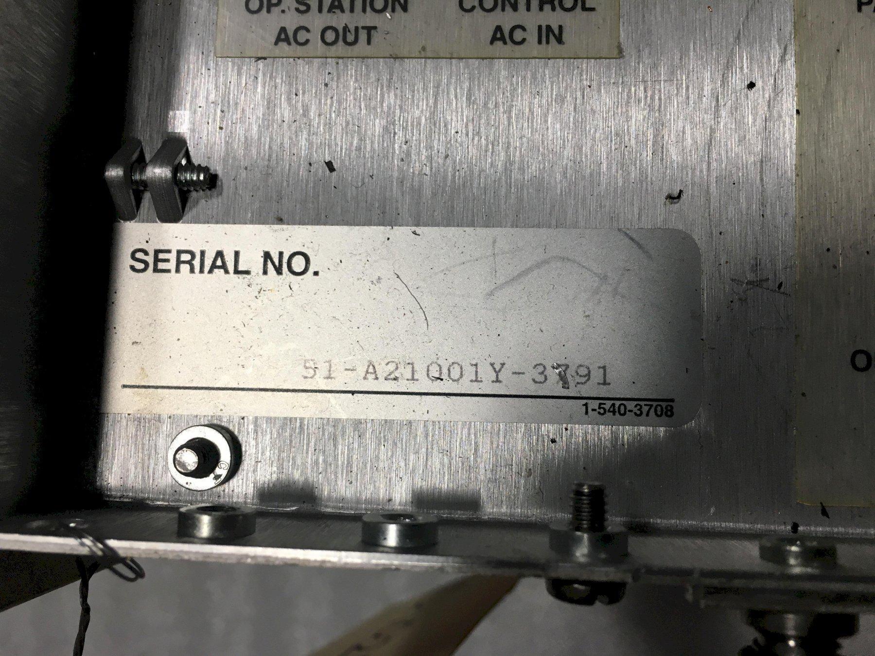 Cincinnati Milacron Acramatic 2100 Control Module