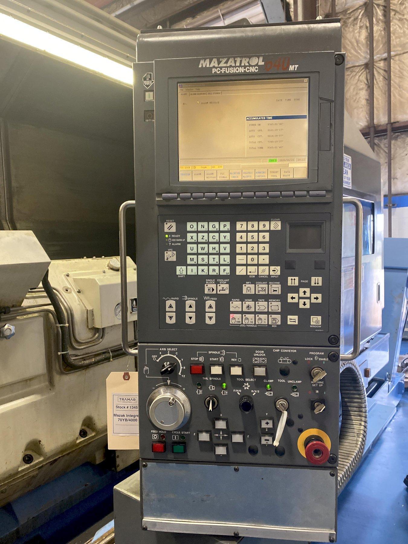 Mazak Integrex 70YB CNC Horizontal Mill/Turn Lathe