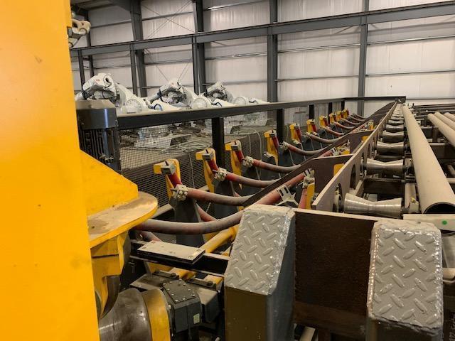 10 Roll Tube Straightening Machine