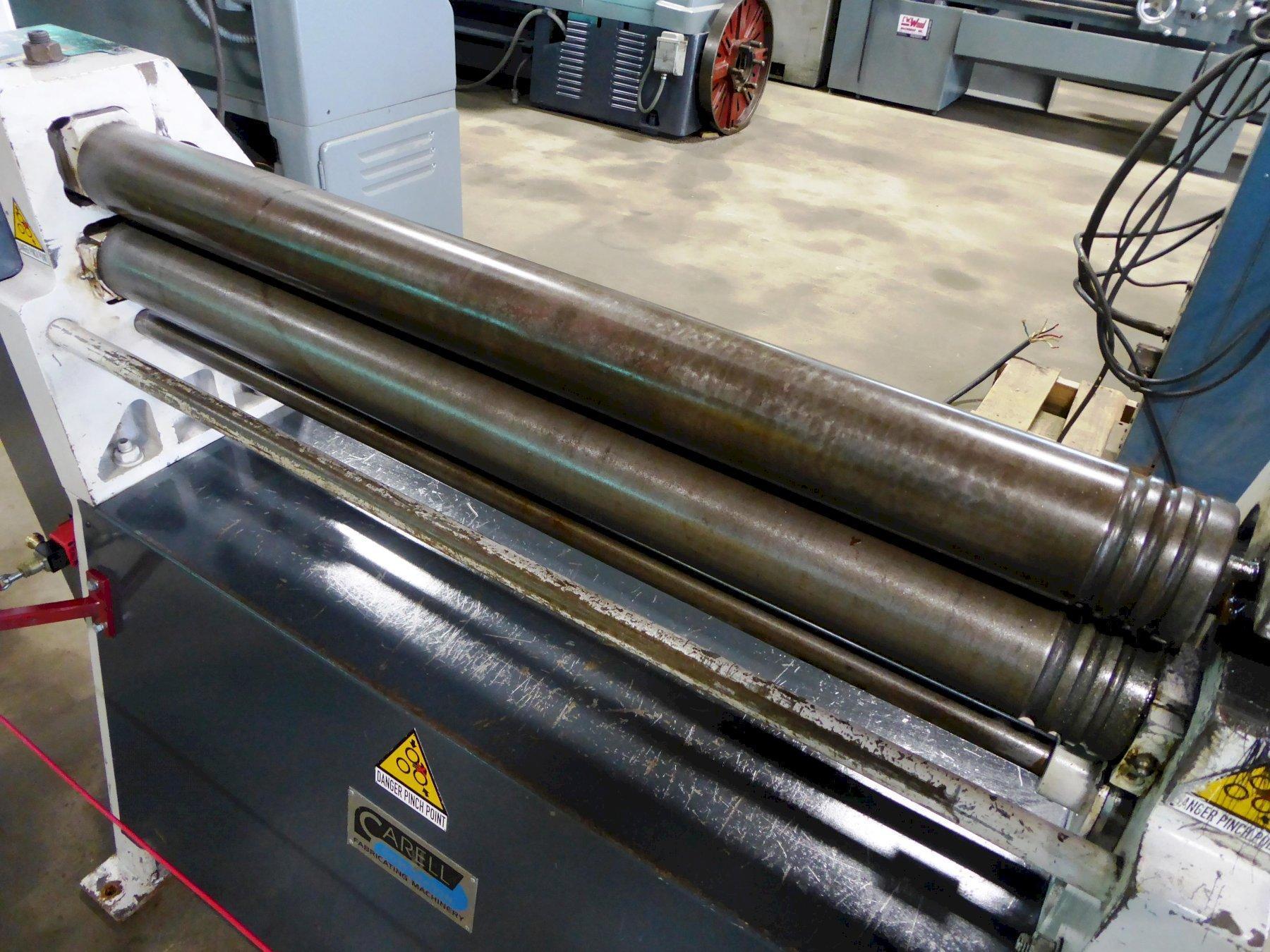 """36"""" x 11 Ga. Famar/Carell Bending Roll, Model A39-10/3, 3-1/2"""" Rolls, Power, Clean"""