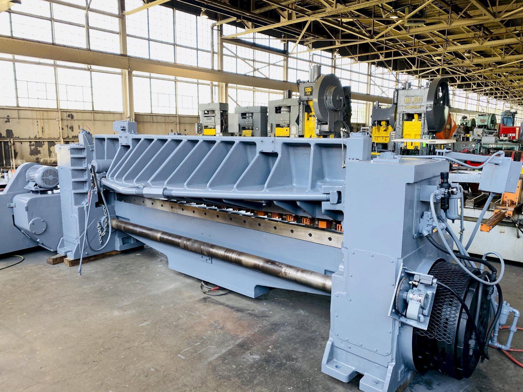 "12' x 1/2"" Wysong 1250 Mechanical Power Squaring Shear"
