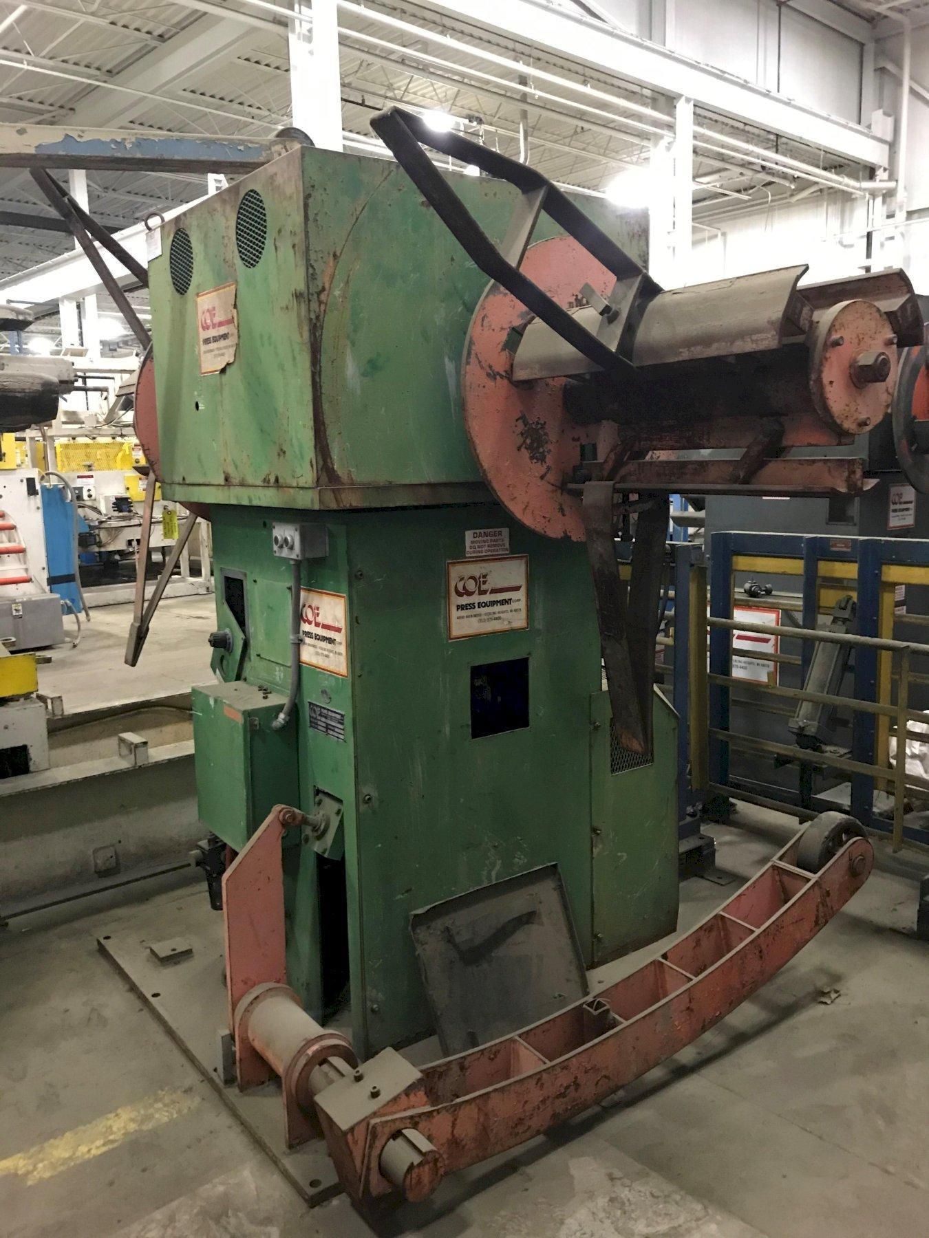 7000 Lbs. COE Model #CPR-DE-70-24, Double End Coil Reel