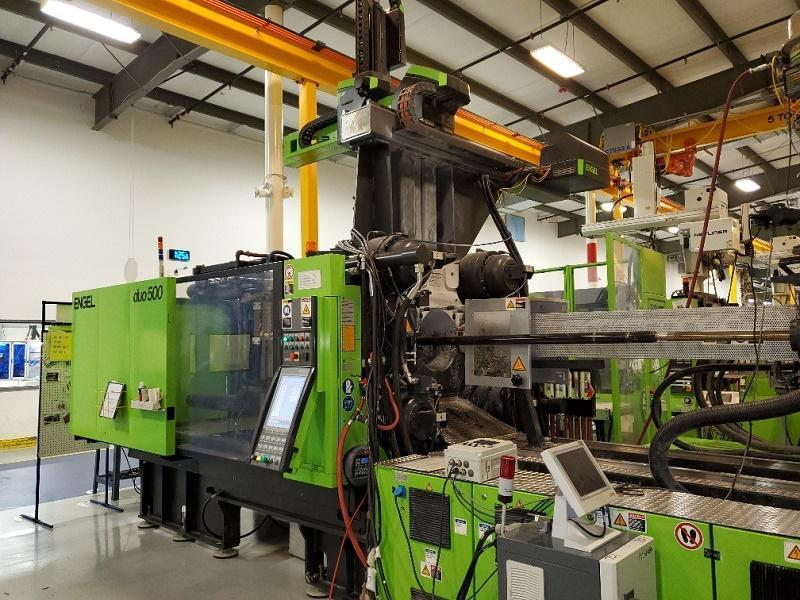 Engel Used DUO 2050/500 Pico US Injection Molding Machine, 500 US ton, Yr. 2012, 50.3 oz.
