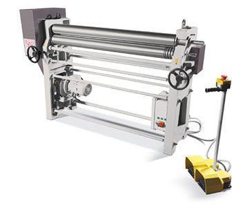 "3.54"" Diameter x 4 ft NEW CT - Sahinler Power Bending Roll - Initial Pinch"