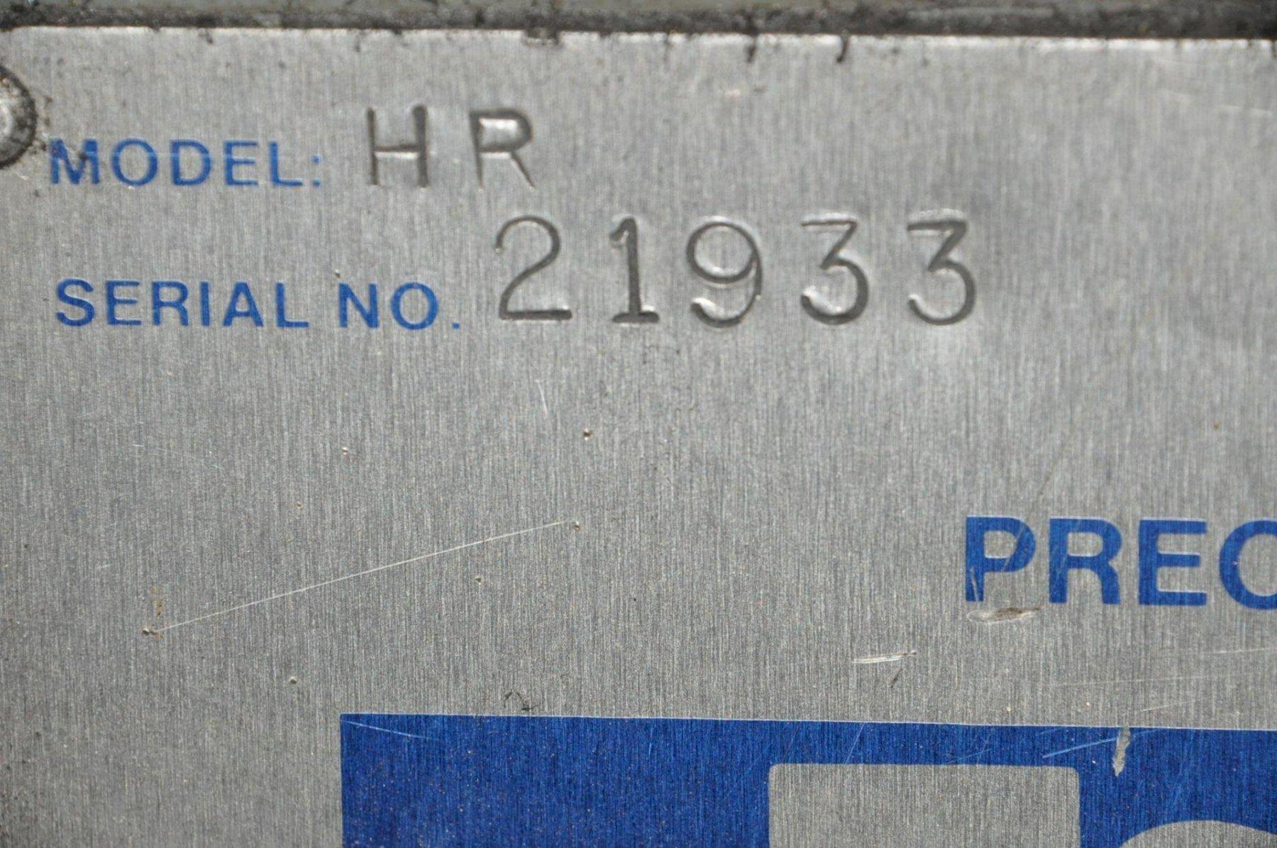 """6"""" X 18"""" REID HAND FEED SURFACE GRINDER: STOCK #73743"""