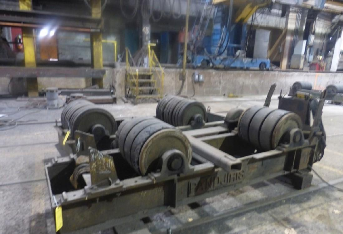 PAIR OF PANDJIRIS WELDING TURNING ROLLS: STOCK #13379
