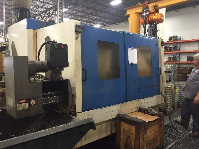 2005 HYUNDAI KIA KH-63G HORIZONTAL MACHINING CENTER