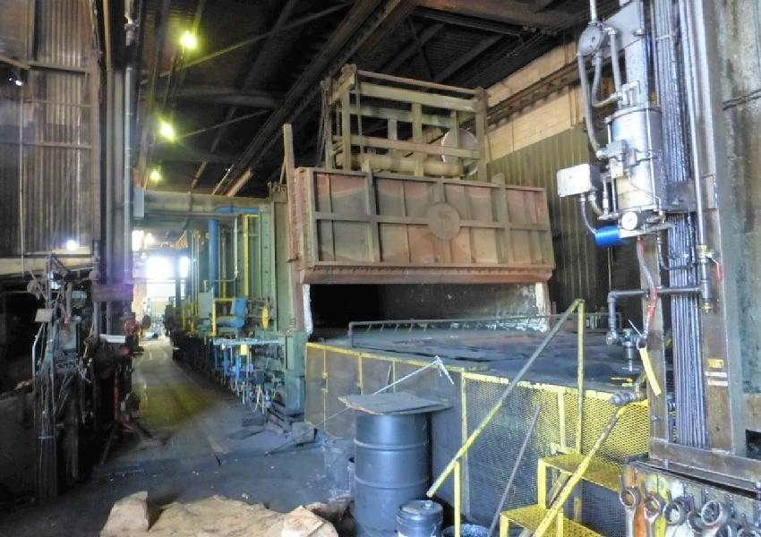 4,000 TON LAKE ERIE DOUBLE ACTION HYDRAULIC PRESS. STOCK # 2001020
