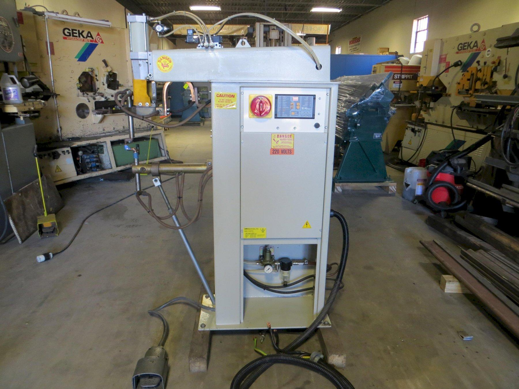 50 KVA, TECNA Press Type Spot Welder, Model 4626N