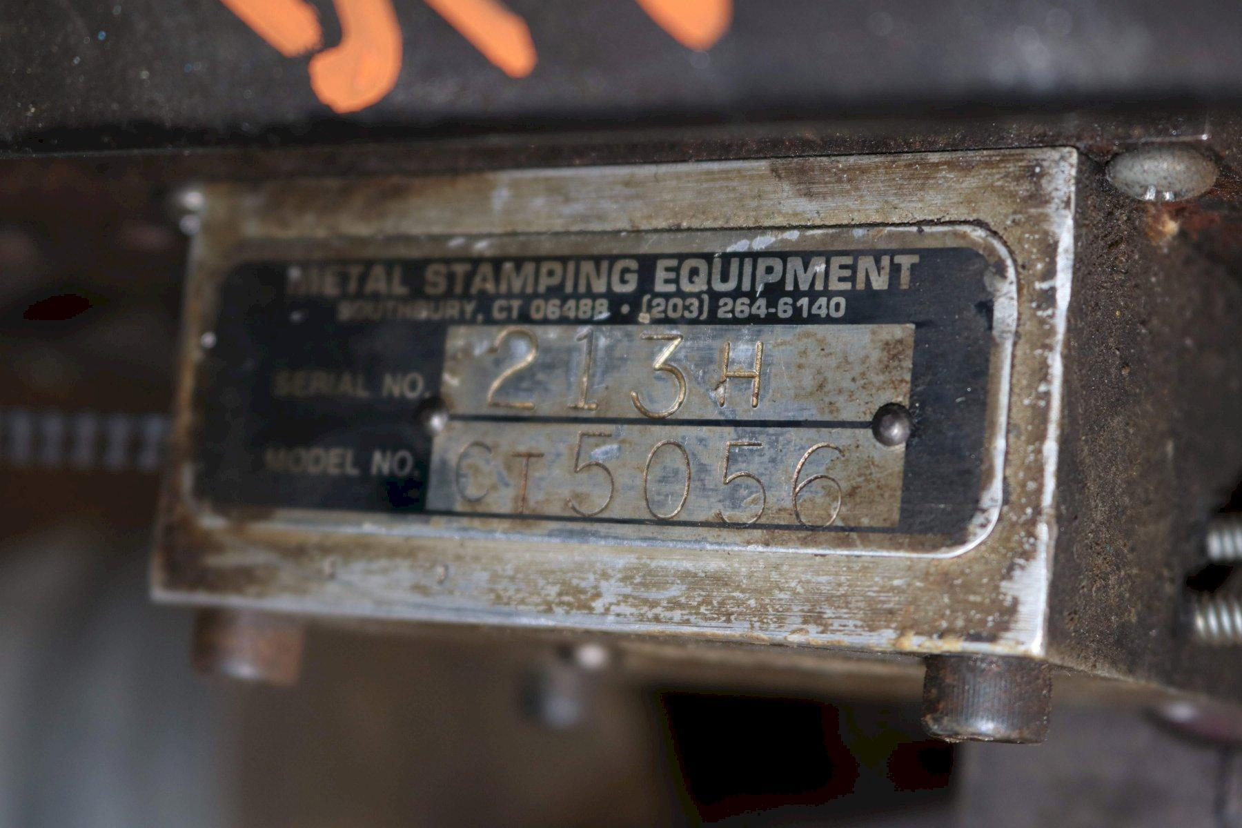 5000 LB METAL STAMPING EQ.PALLET TYPE COIL REEL: STOCK #72958