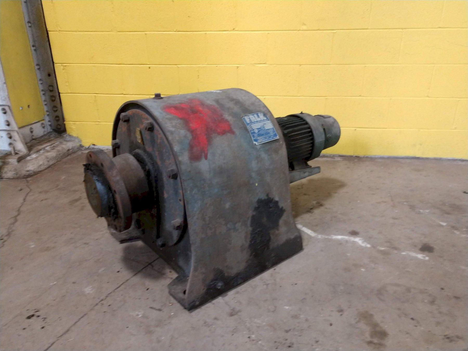 3 HP FALK MODEL 316E74-06A1 ALL-MOTOR MOTOREDUCER: STOCK #10827