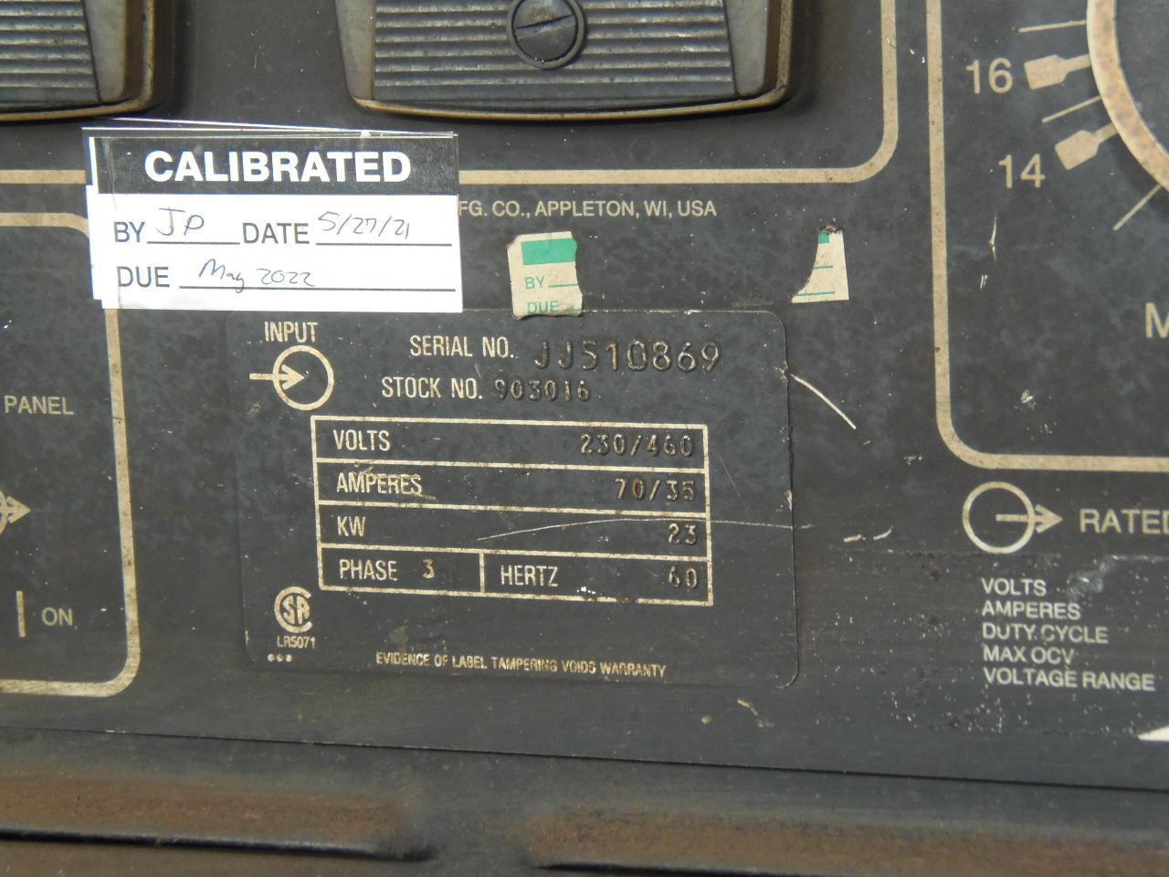 Miller 650 Amp Wire Feed Welder, model Deltaweld 651 with D54D feeder
