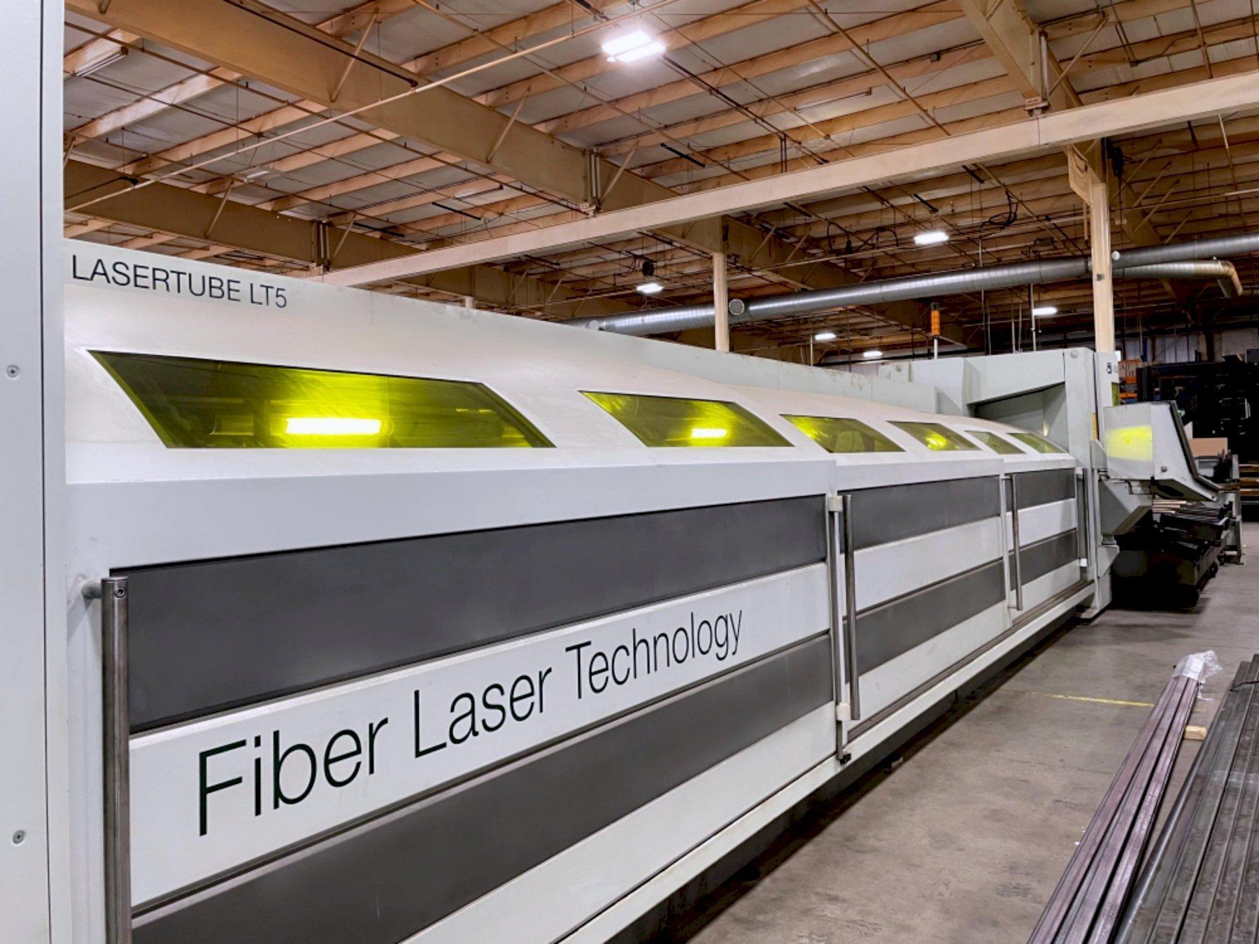BLM LT5 Fiber 2014 Tube Laser