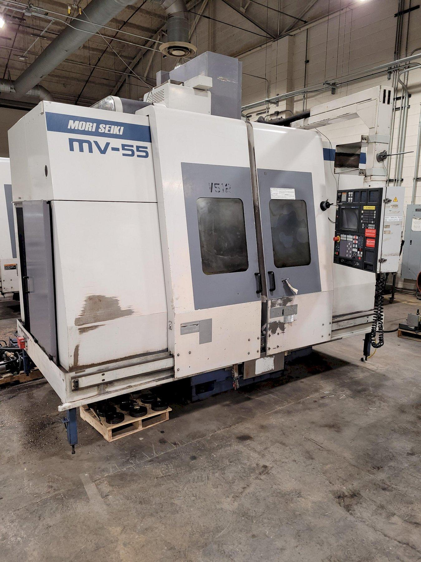 Mori Seiki MV-55/50 CNC Vertical Machining Center