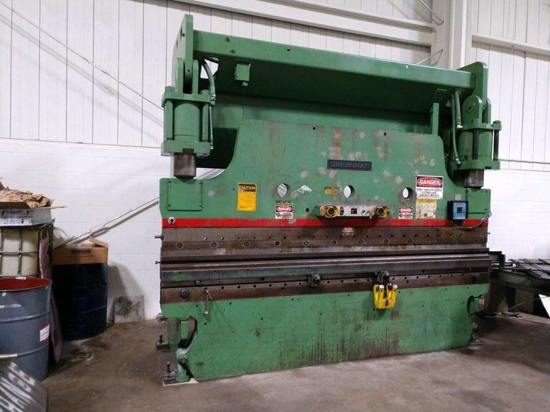230 TON x 12' CINCINNATI 230CBx10 HYDRAULIC PRESS BRAKE