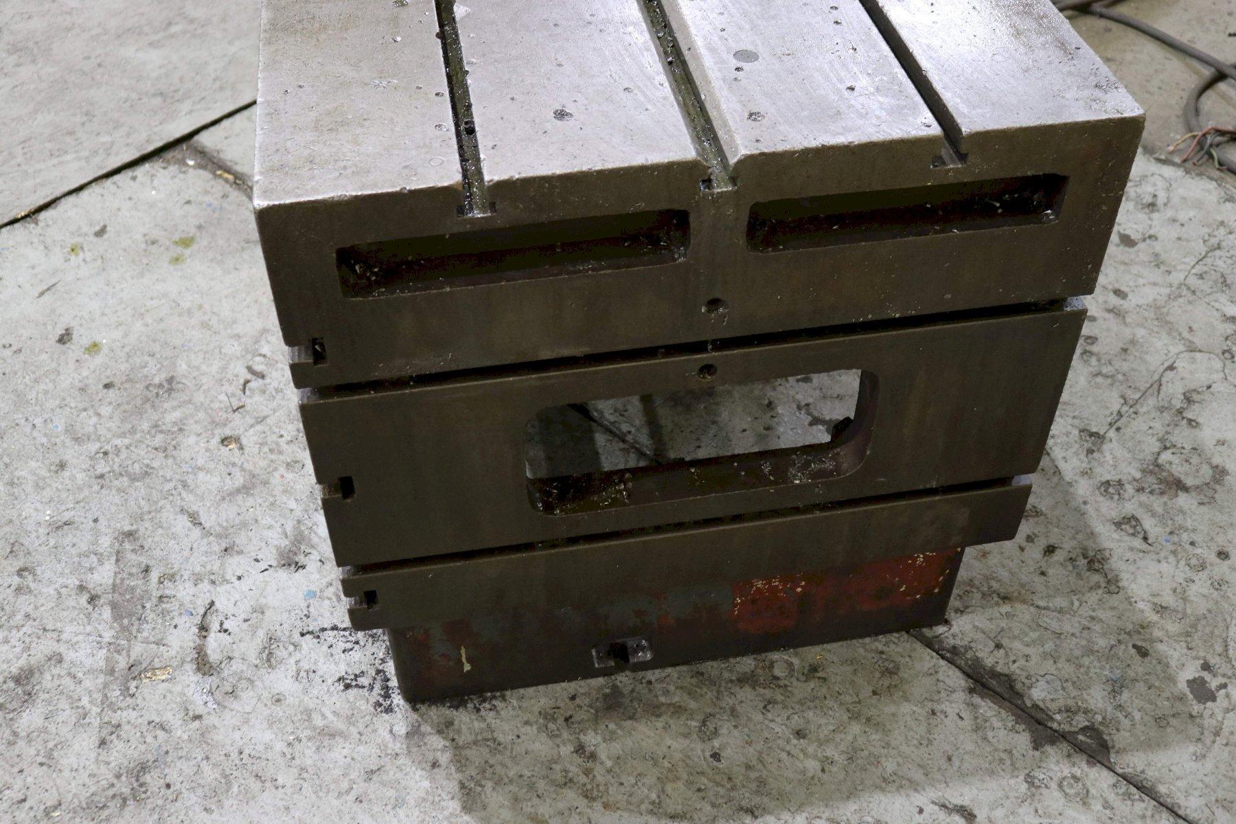 36' X 30' X 30' CUSTOM BOX DRILL TABLE: STOCK #73089