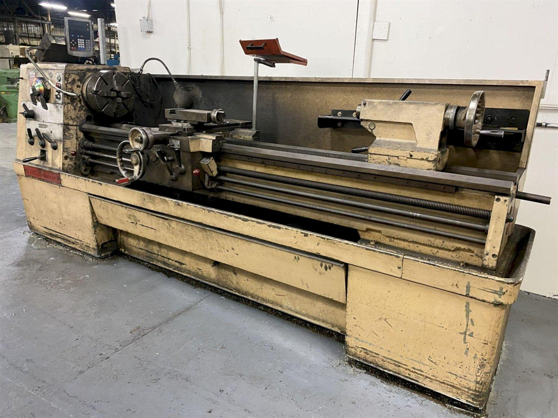 """17"""" X 80"""" CLAUSING COLCHESTER ENGINE LATHE: STOCK #13532"""