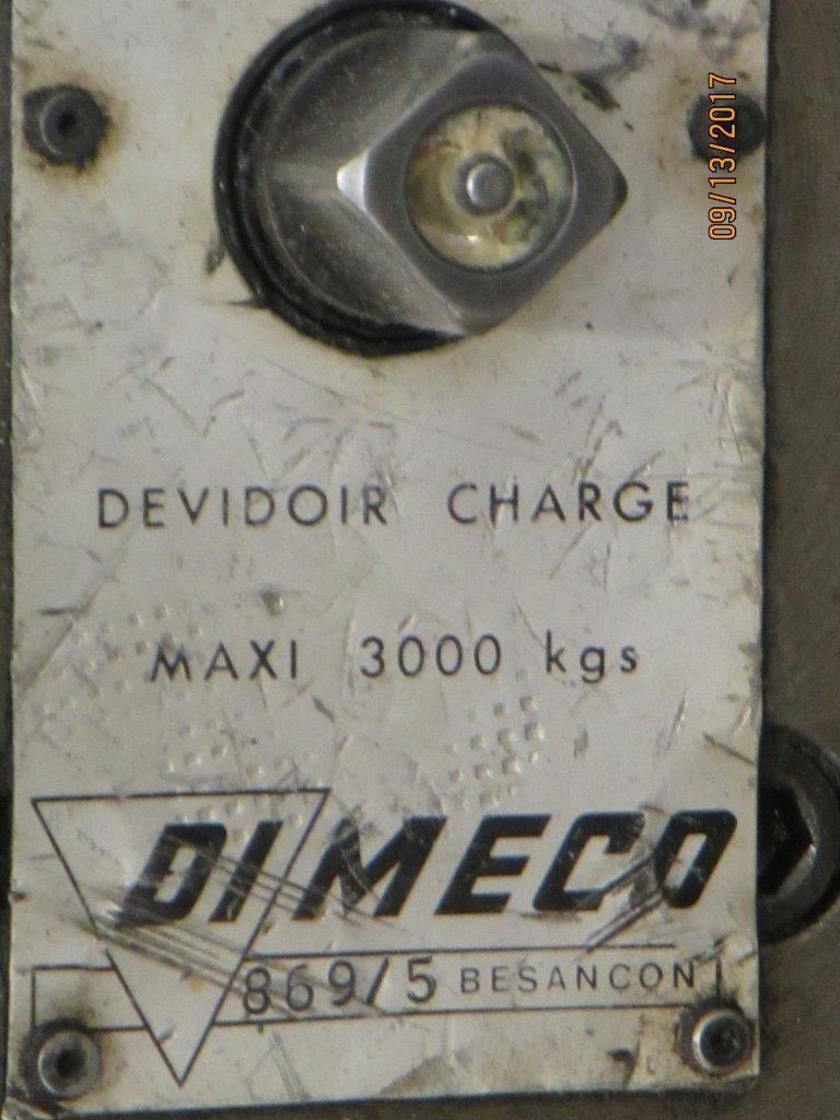 "10,000 LB x 48"" x .090"" Dimeco Cut To Length Line"