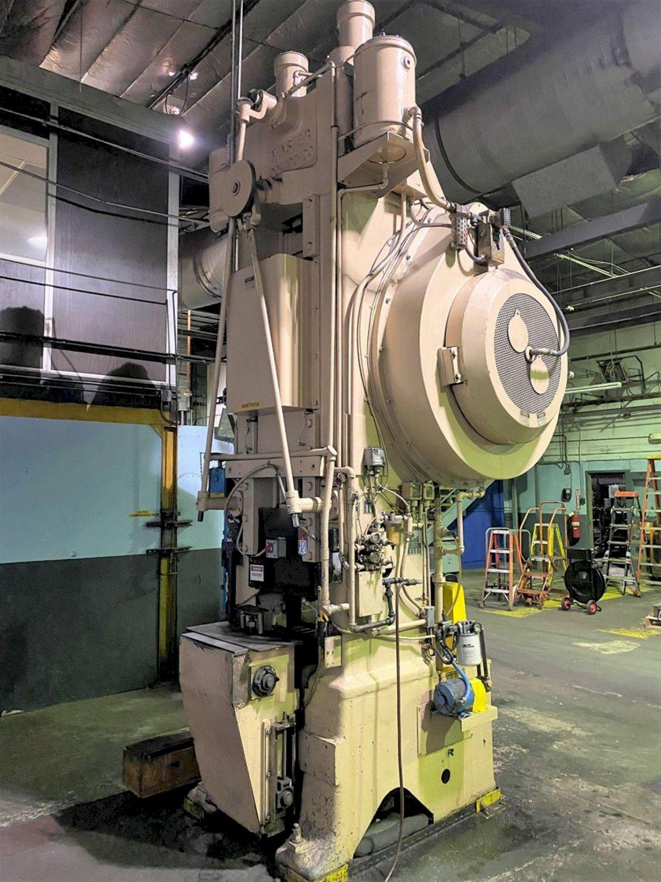 400 TON MINSTER MODEL 90-400 KNUCKLE JOINT PRESS: STOCK #13550