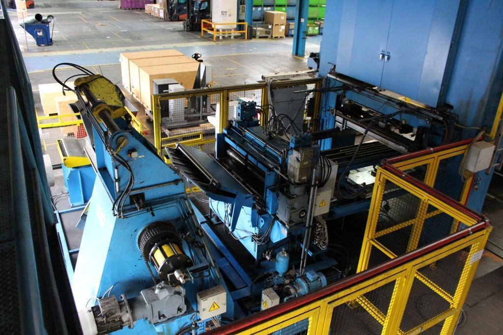 1000 Ton Complete Fagor Transfer Press (Year 2000)