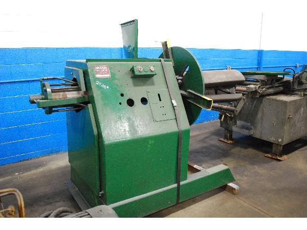 American Steel Line Motorized Coil Reel Uncoiler 6,000 Lbs. x 30