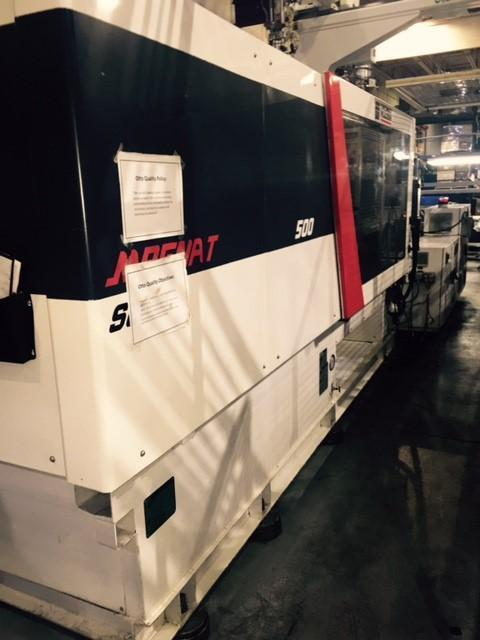 Cincinnati Milacron MTS-500 Used Injection Molding Machine, 500 US ton, Yr. 2013, 30 oz.