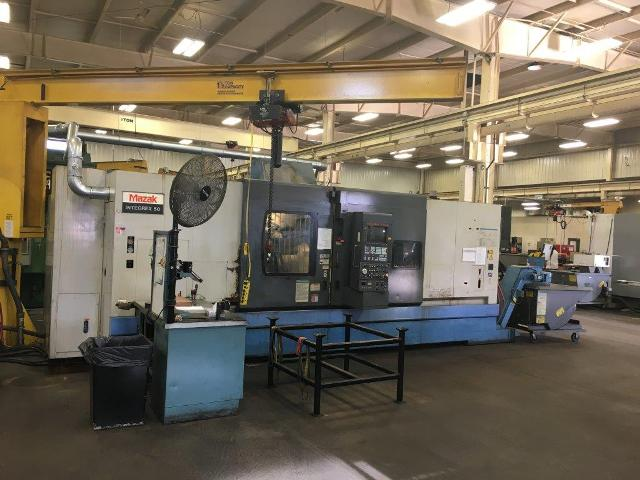 MAZAK INTEGREX 50Y-2500U CNC MILL TURN CENTER