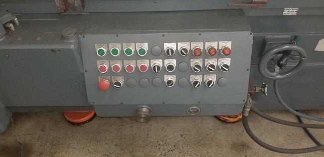 "17"" x 72"" MATTISON, (2) 17"" x 36"" Electro Magnetic Chucks, Incremental Power Down Feed, Auto Recip & Crossfeed, Power Elevation, Over Wheel Dresser, New 1974."