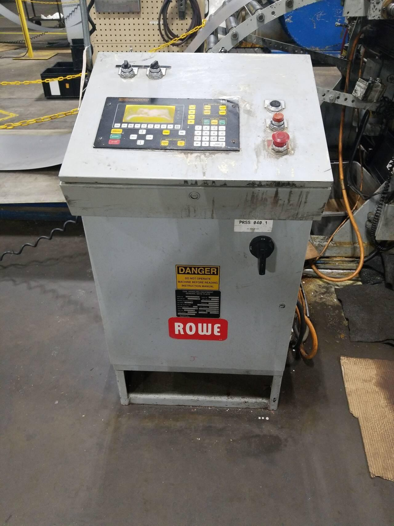 "48"" Rowe Servo Feed Model# PM-FAC08325"