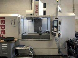 2019 FADAL VMC 6030B-II - Vertical Machining Center