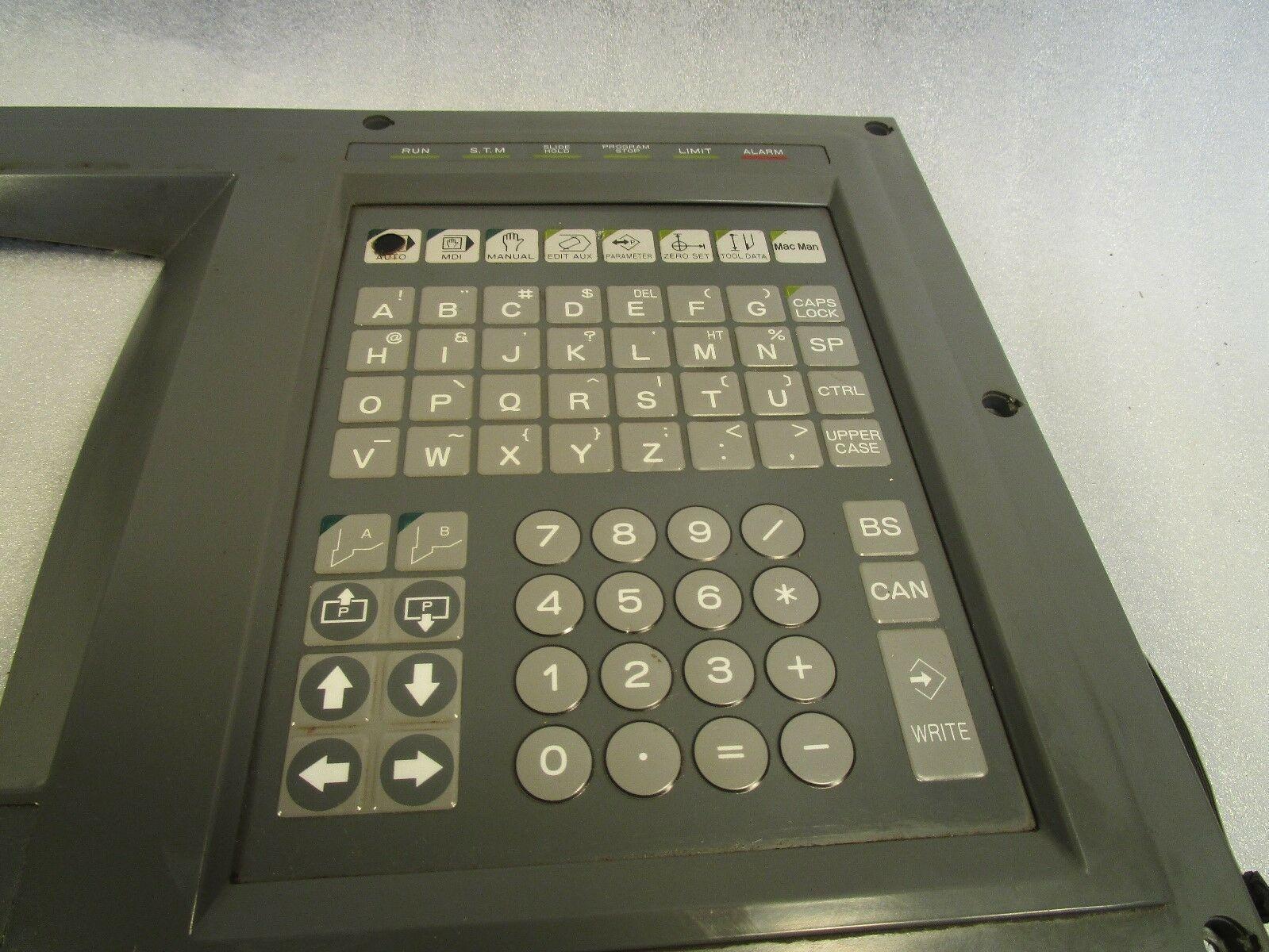 Okuma OSP 7000L OPUS Operator Panel L-SC 960021 Push Button Panel