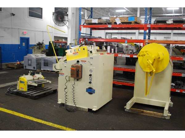 (S) COE PRESS Complete Coil Feed Line 6,000 Lbs. x 24