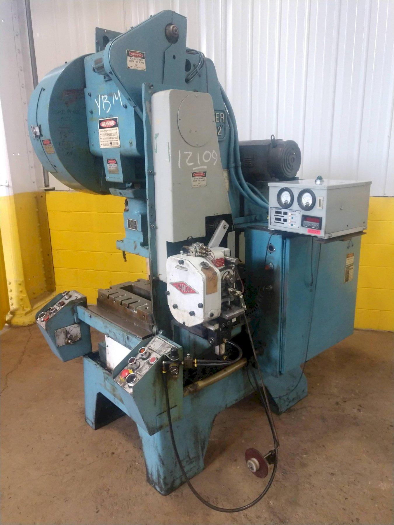 22 TON MINSTER B1-22 HI SPEED FIXED BASE PRESS: STOCK #12109