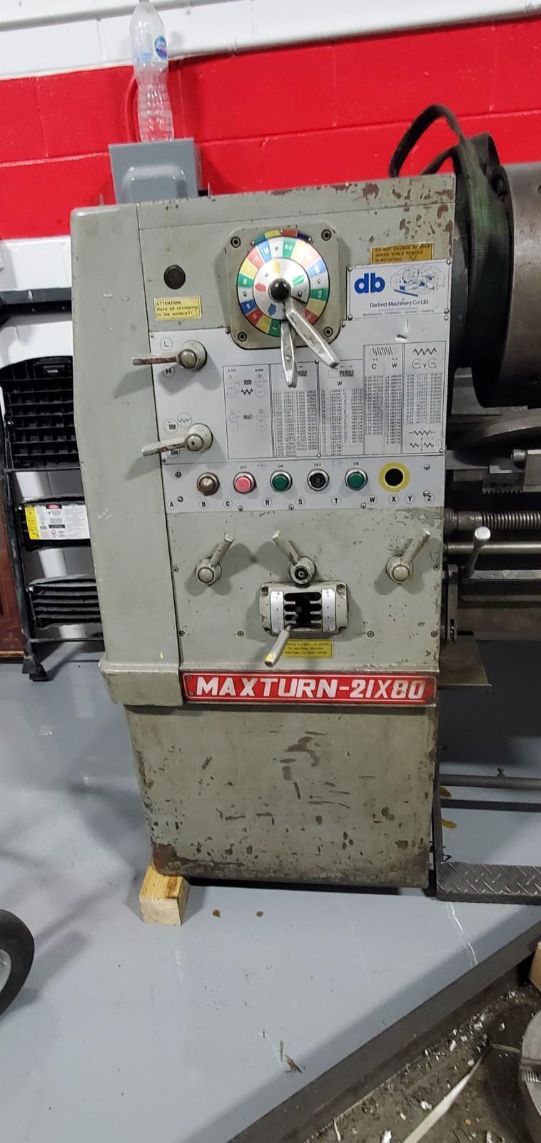 Colchester Maxturn 21x80 Manual Lathe