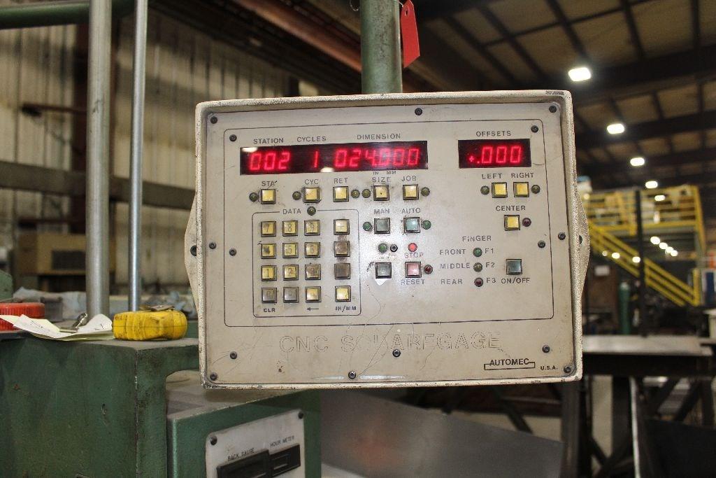 12' X 1/4' BETENBENDER HYDRAULIC POWER SQUARING SHEAR: STOCK #72765