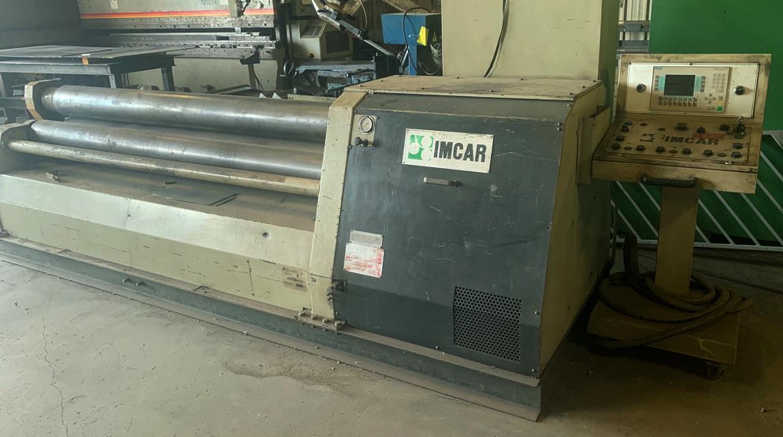"2004 IMCAR Four-Roll 5/16"" x 8' Plate Roll"