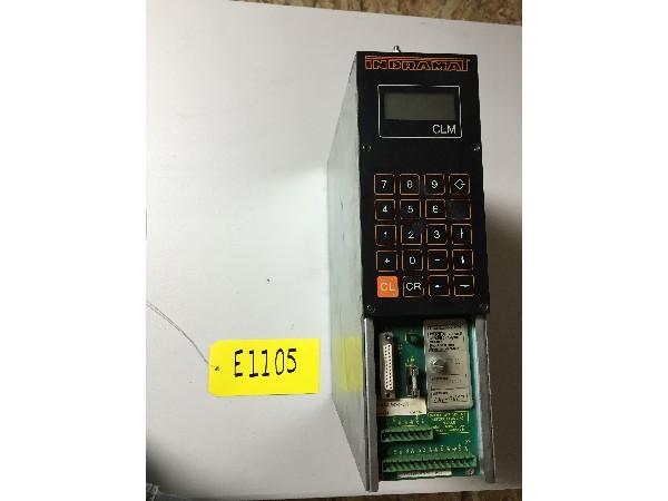 Used Indramat Servo Controller - CLM0.13-X-0-2-0