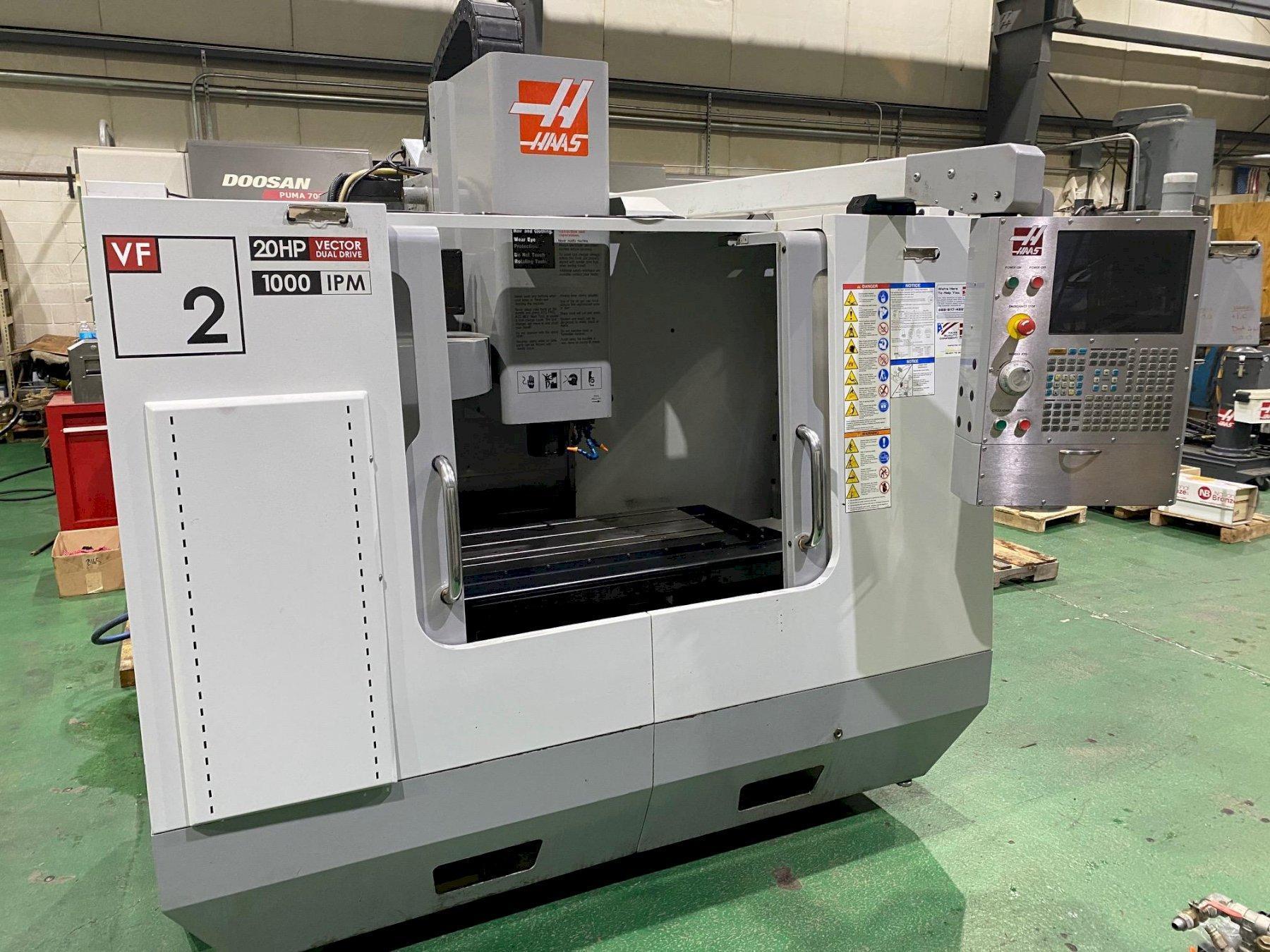 2008 Haas VF-2D CNC Vertical Machining Center