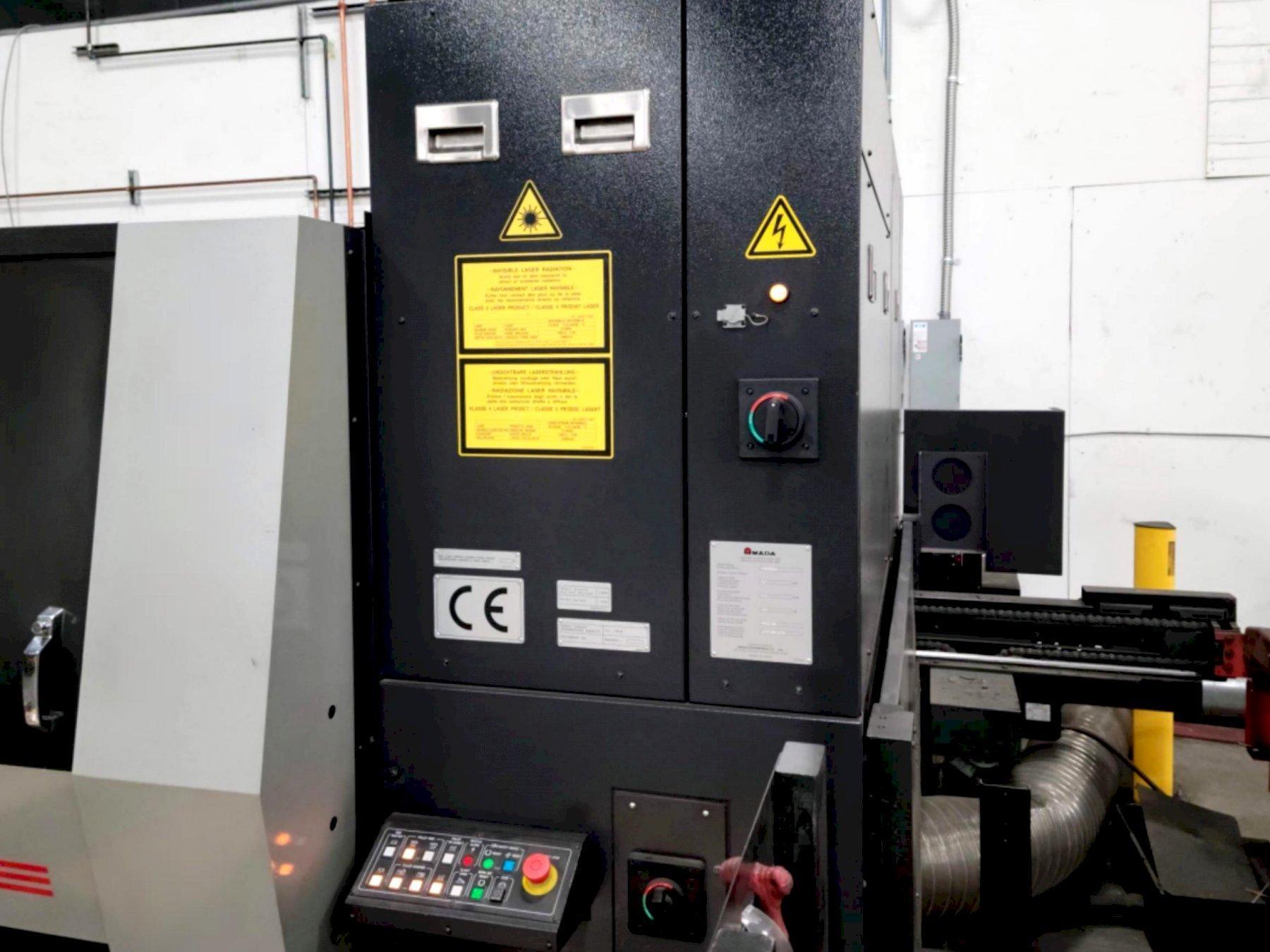 Amada ENSIS-3015AJ 2016 2.1kw Fiber Laser