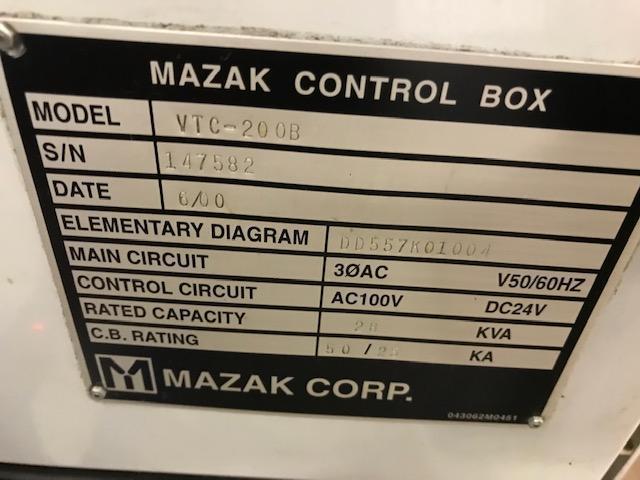 Mazak Traveling Column CNC Vertical Machining Center
