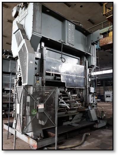 Minster E2-400-96 Straight Side Press