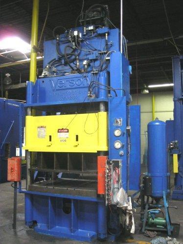150 Ton VERSON 150-HD1-60-48P Hydraulic Press
