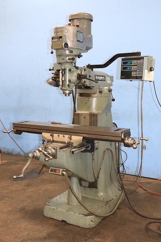Bridgeport Vertical Milling Machine Series I, 9