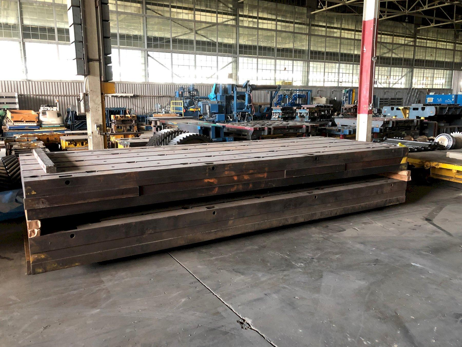 """77"""" x 203"""" x 13 3/4"""" T-Slotted Floor Plate"""