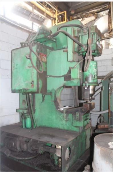 125 TON HILL ACME MODEL #7 SINGLE END HYDRAULIC PUNCH: STOCK #14713