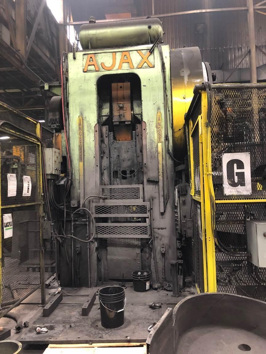 1600 TON AJAX HOT FORGING PRESS: STOCK #12931