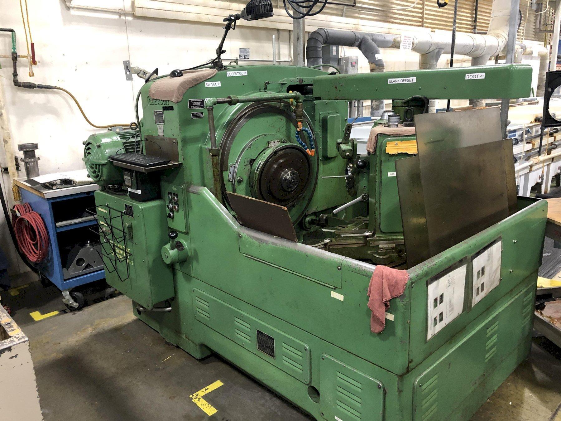 Gleason model 108 Hypoid Gear Generator
