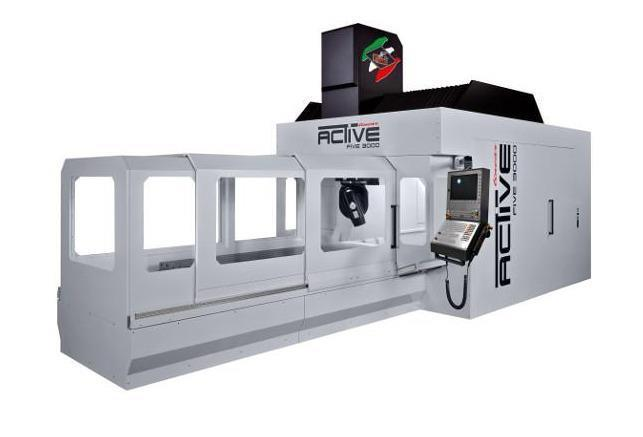 Parpas Active 3000 Linear High-Speed Bridge Type CNC Milling Center